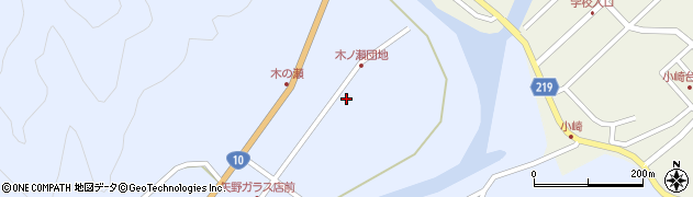 大分県佐伯市弥生大字井崎1552周辺の地図