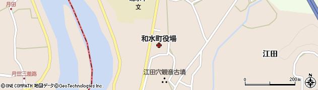 熊本県和水町(玉名郡)周辺の地図