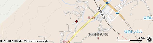 大分県佐伯市鶴望4572周辺の地図