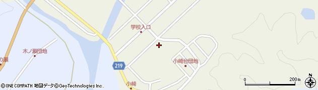 大分県佐伯市弥生大字大坂本417周辺の地図