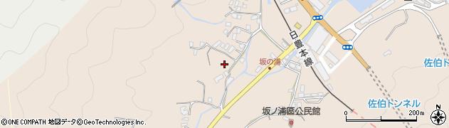 大分県佐伯市鶴望4625周辺の地図