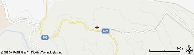 大分県竹田市志土知113周辺の地図