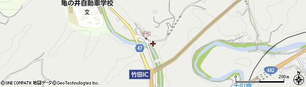 大分県竹田市会々30周辺の地図