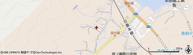 大分県佐伯市鶴望4688周辺の地図