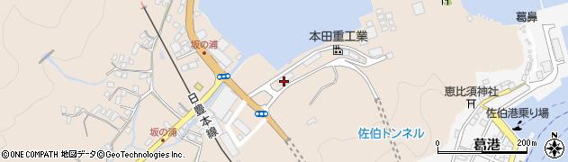 大分県佐伯市鶴望5026周辺の地図