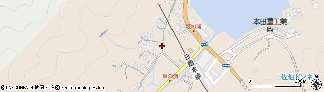 大分県佐伯市鶴望4694周辺の地図
