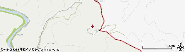 大分県竹田市挟田1995周辺の地図