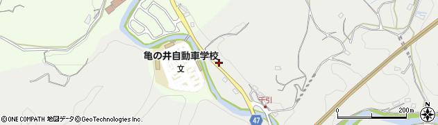 大分県竹田市会々19周辺の地図