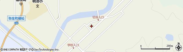 大分県佐伯市弥生大字大坂本503周辺の地図