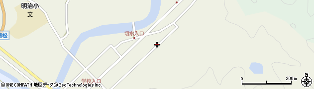 大分県佐伯市弥生大字大坂本469周辺の地図