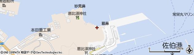 大分県佐伯市鶴望5037周辺の地図