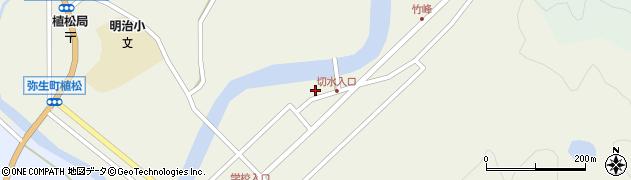 大分県佐伯市弥生大字大坂本599周辺の地図