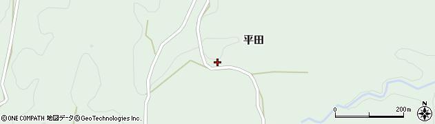 大分県竹田市平田2447周辺の地図