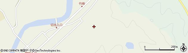大分県佐伯市弥生大字大坂本51周辺の地図