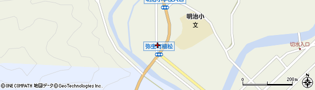 大分県佐伯市弥生大字大坂本1078周辺の地図
