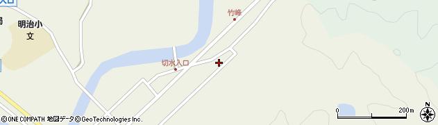 大分県佐伯市弥生大字大坂本72周辺の地図