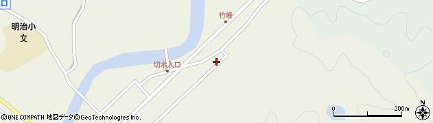 大分県佐伯市弥生大字大坂本73周辺の地図