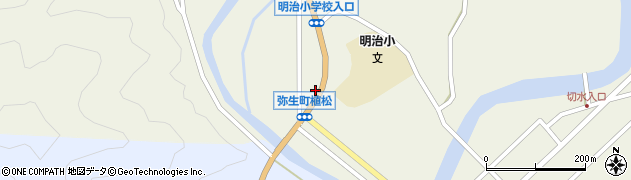 大分県佐伯市弥生大字大坂本1080周辺の地図