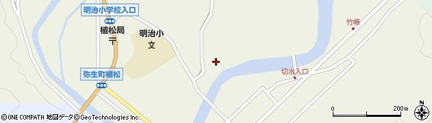 大分県佐伯市弥生大字大坂本795周辺の地図
