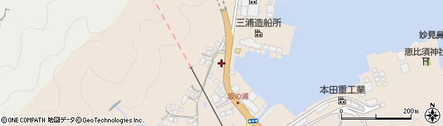大分県佐伯市鶴望4935周辺の地図