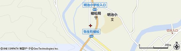 大分県佐伯市弥生大字大坂本1075周辺の地図
