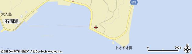 大分県佐伯市石間浦997周辺の地図