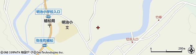 大分県佐伯市弥生大字大坂本782周辺の地図