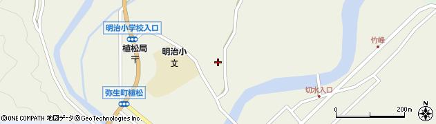 大分県佐伯市弥生大字大坂本829周辺の地図