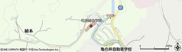 大分県竹田市植木731周辺の地図