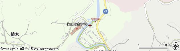 大分県竹田市植木765周辺の地図