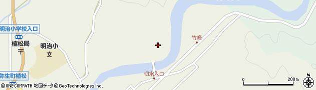 大分県佐伯市弥生大字大坂本切水周辺の地図
