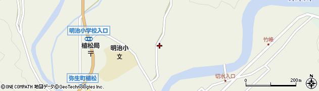 大分県佐伯市弥生大字大坂本771周辺の地図