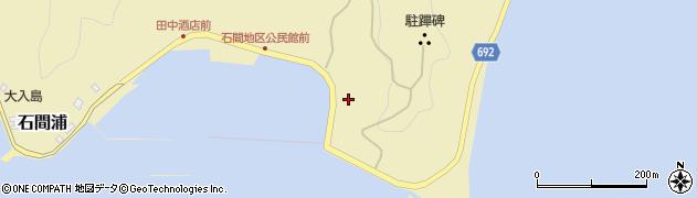 大分県佐伯市石間浦170周辺の地図