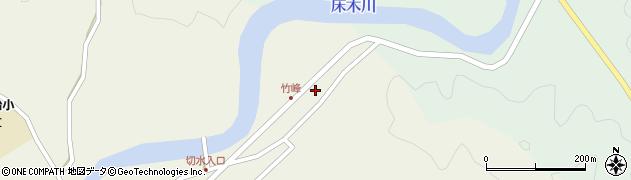 大分県佐伯市弥生大字大坂本15周辺の地図