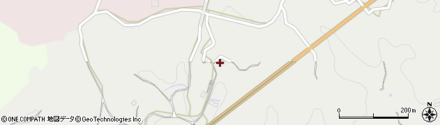 大分県竹田市会々432周辺の地図