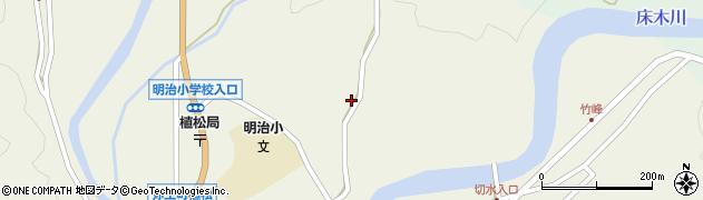 大分県佐伯市弥生大字大坂本764周辺の地図