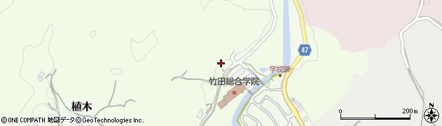 大分県竹田市植木728周辺の地図