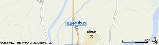 大分県佐伯市弥生大字大坂本1174周辺の地図
