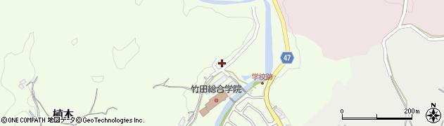 大分県竹田市植木720周辺の地図