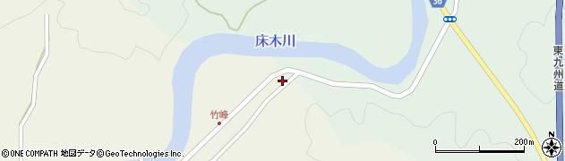 大分県佐伯市弥生大字床木13周辺の地図