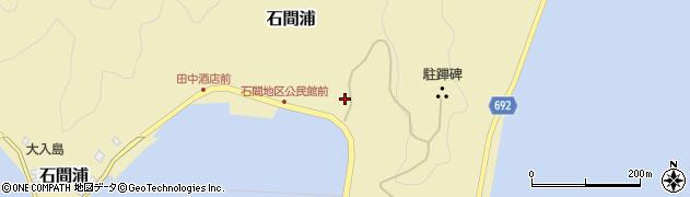 大分県佐伯市石間浦234周辺の地図