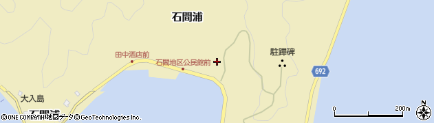 大分県佐伯市石間浦237周辺の地図