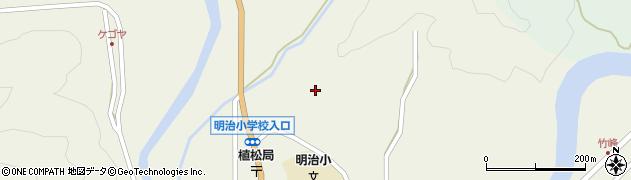 大分県佐伯市弥生大字大坂本1262周辺の地図