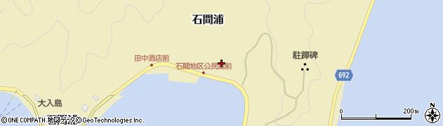 大分県佐伯市石間浦245周辺の地図