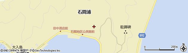 大分県佐伯市石間浦250周辺の地図