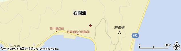 大分県佐伯市石間浦167周辺の地図