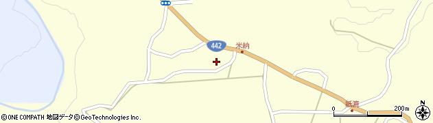 大分県竹田市米納571周辺の地図