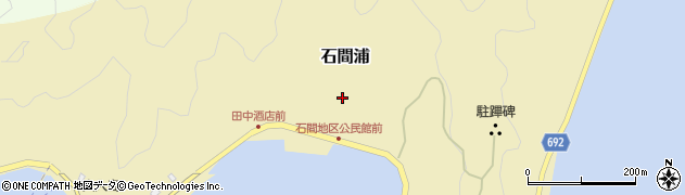 大分県佐伯市石間浦371周辺の地図
