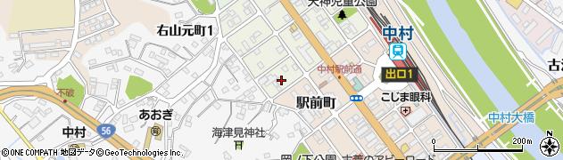 高知県四万十市右山天神町周辺の地図