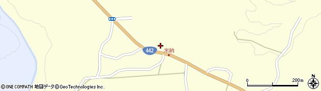 大分県竹田市米納625周辺の地図